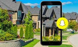 How real-estate and Snapchat are going hand-in-hand