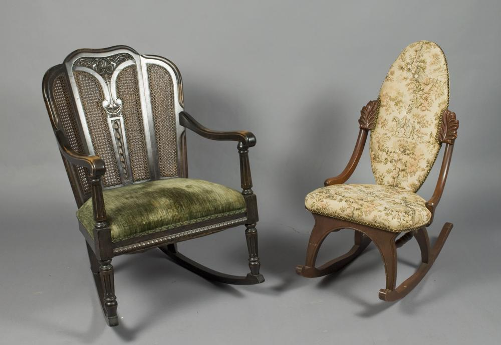 Refinishing An Antique Rocking Chairfw Real Estate Fw